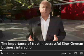 The importance of trust in successful Sino-German business interaction